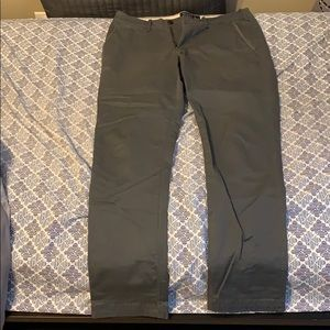 Abercrombie and Fitch gray chinos